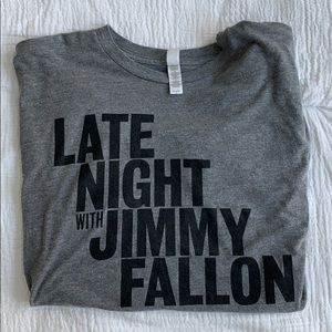 Late Night with Jimmy Fallon vintage tee